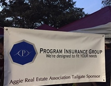 Sponsoring the Aggie Real Estate Association Tailgate