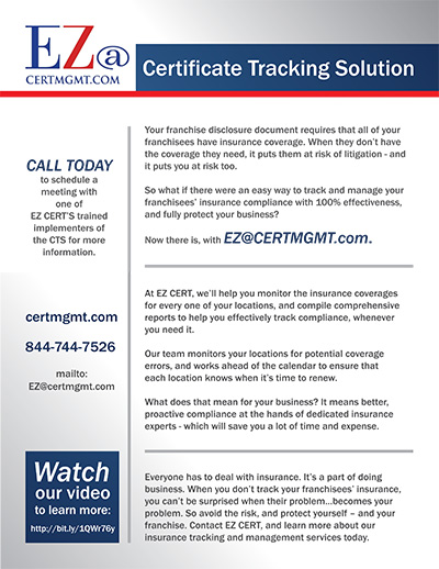 Certification Tracking with EZ CERT